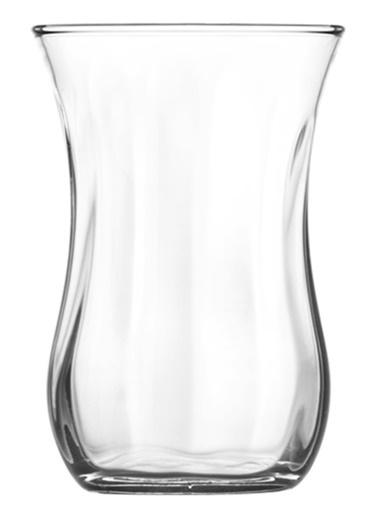 Lav Çay Bardak Optikli Çay Bardağı 12 Li - Çay Bardak Renksiz